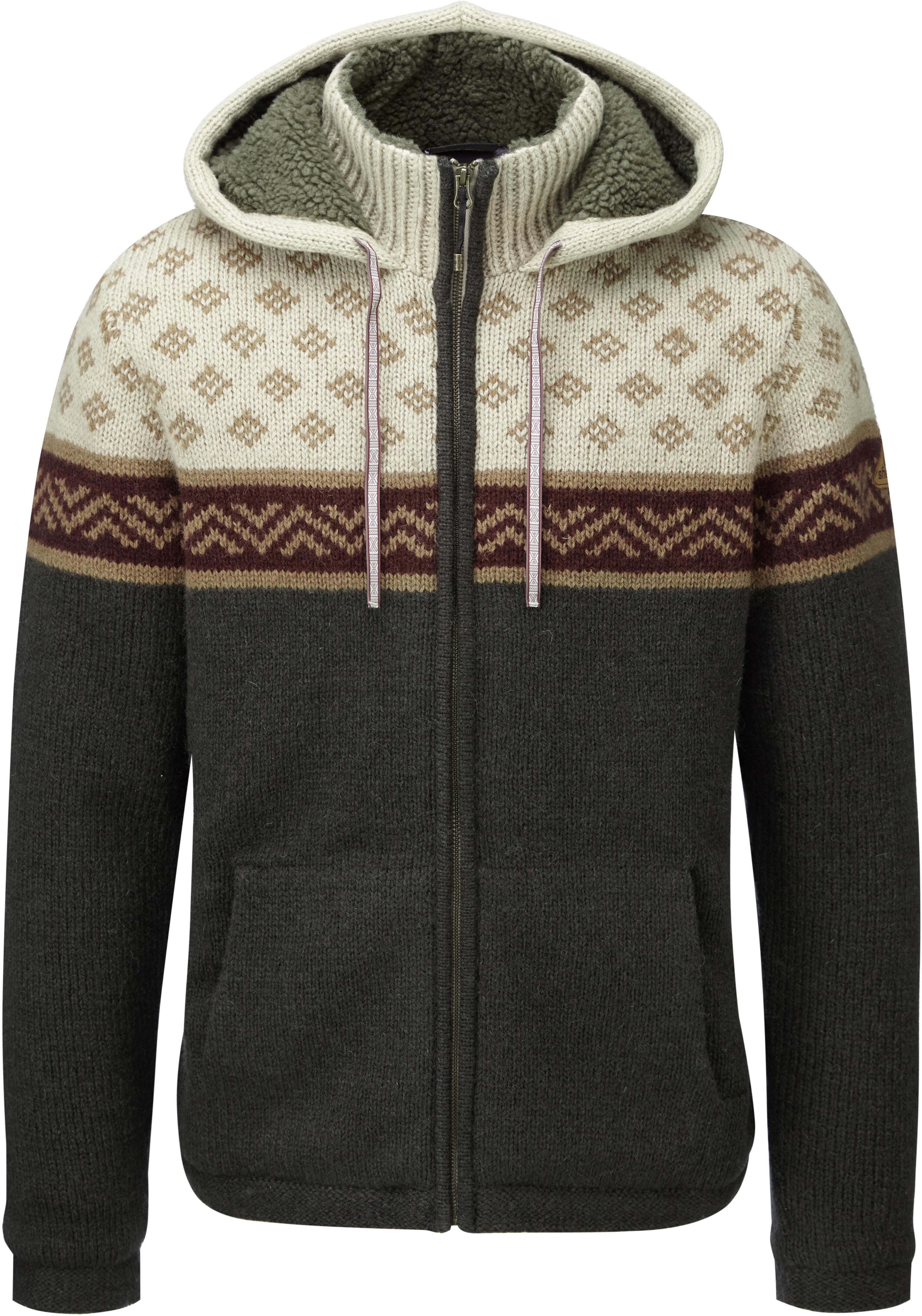 Sherpa Kirtipur - Midlayer Hombre - beige gris  3c6170edfa40